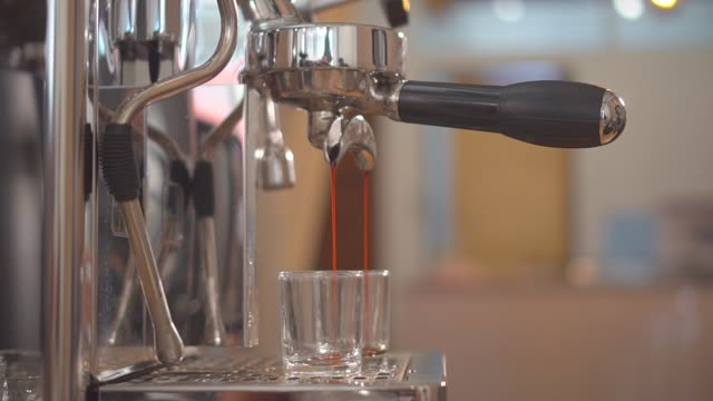 making a espresso and cappuccino - coffee drink stock videos & royalty-free footage