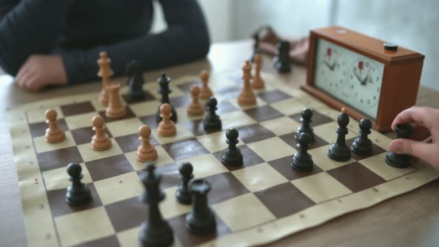 making a move in game of chess - chess stock videos & royalty-free footage