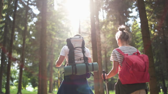 making adventures together - rucksack stock videos & royalty-free footage