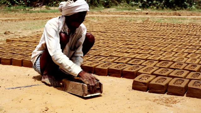 making bricks - cultures stock videos & royalty-free footage