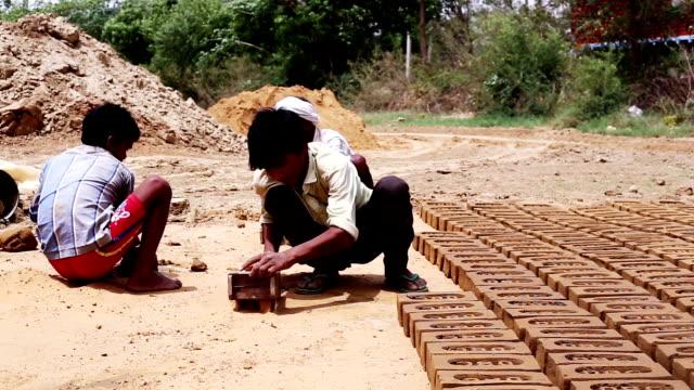 making bricks - brick stock videos & royalty-free footage