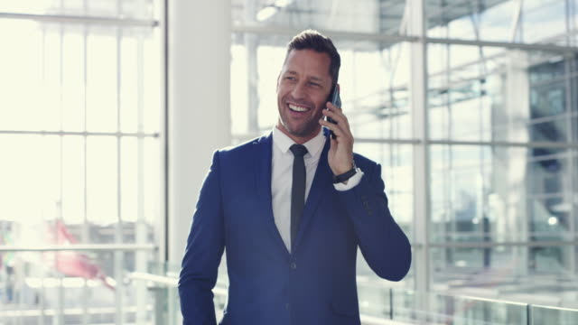making calls is part of the business - suit stock videos & royalty-free footage