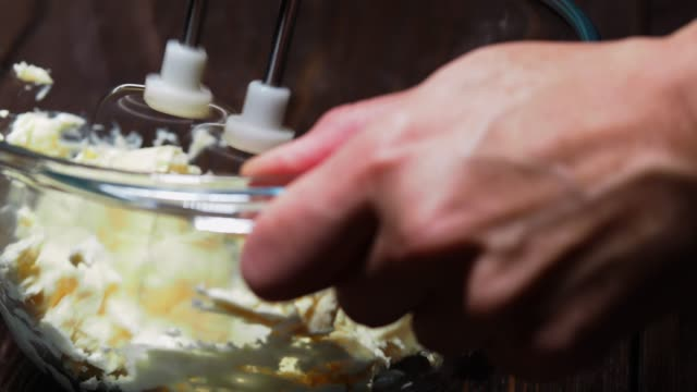 making cheese cream - condensed milk stock videos & royalty-free footage