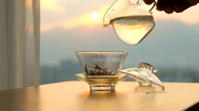 making china traditional tea - teapot stock videos & royalty-free footage