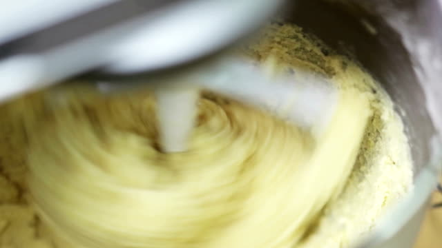 making cookie dough - arrangement stock videos & royalty-free footage