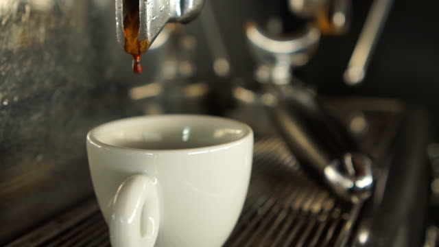 making espresso - coffee drink stock videos & royalty-free footage