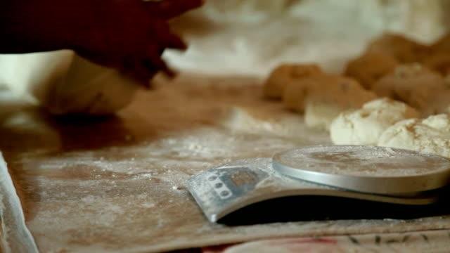 making flat bread - tortilla flatbread stock videos & royalty-free footage