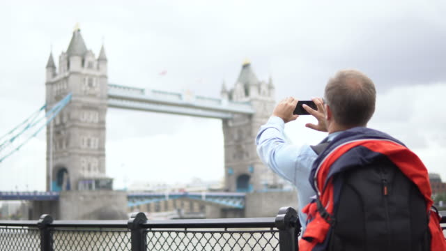 making memories of london - london bridge england stock videos & royalty-free footage