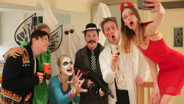 making memories - halloween stock videos & royalty-free footage