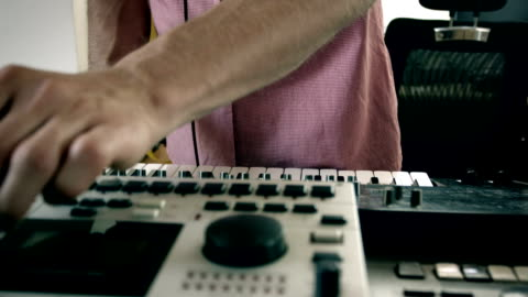 making music - producer stock videos & royalty-free footage