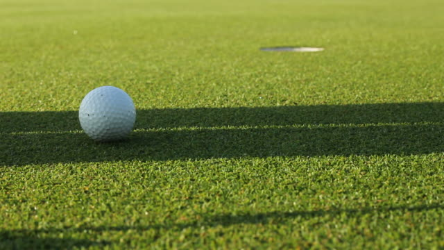 making perfect putt - putting golf stock videos & royalty-free footage