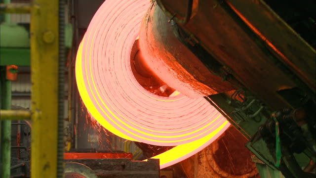 making process steel in iron foundry plant - metal industry stock videos and b-roll footage
