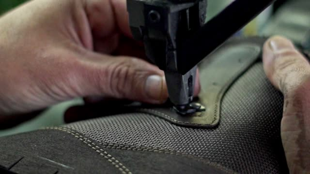 making shoe buckles - needle plant part stock videos & royalty-free footage