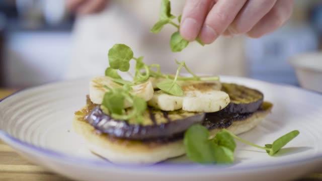 making soda bread open sandwich - gourmet stock videos & royalty-free footage