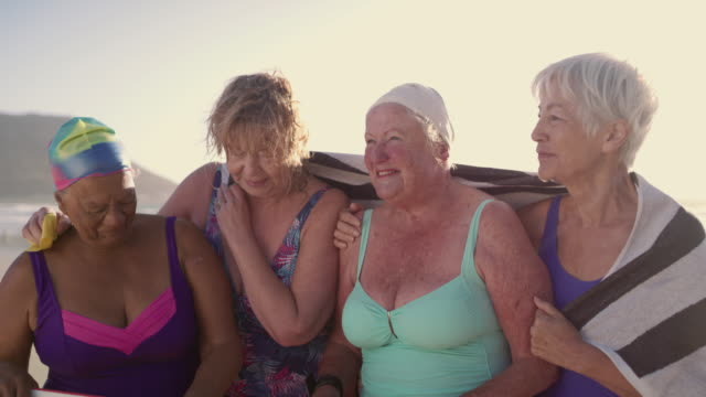 making sure their retirement is far from boring - female friendship stock videos & royalty-free footage