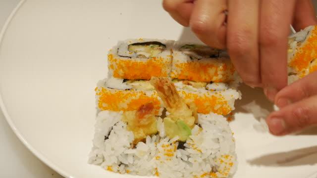 Making Sushi Food