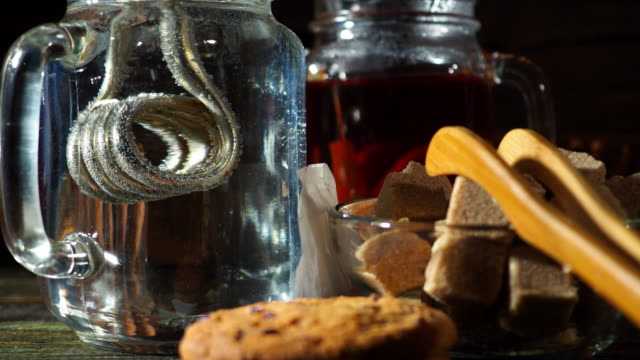 making tea - black tea stock videos & royalty-free footage