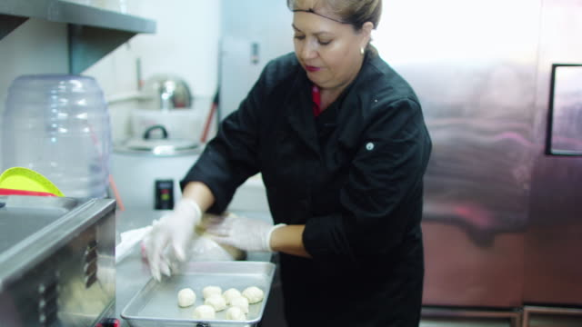 making tortillas - catering occupation stock videos & royalty-free footage