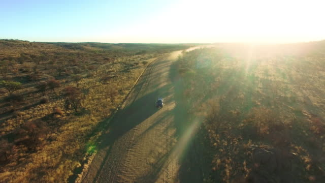 making trails through the desert - dirt track stock videos & royalty-free footage
