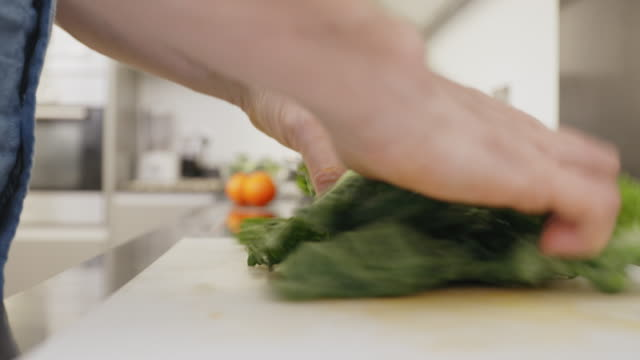 making vegetable soup - savoy cabbage stock videos & royalty-free footage