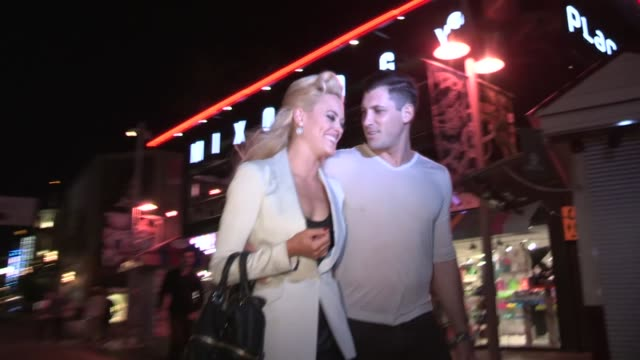 Maksim Chmerkovskiy and Peta Murgatroyd give tips to Lady Gaga Justin Bieber Puking on Stage at Celebrity Sightings in Los Angeles Maksim...