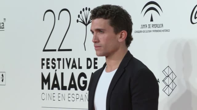 malaga film festival cocktail party. many famous actors and celebrities attended the event. - film festival stock videos & royalty-free footage