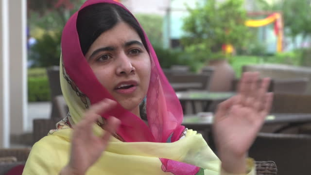 Malala Yousafzai explaining why she has no intentions of running for Prime Minister of Pakistan