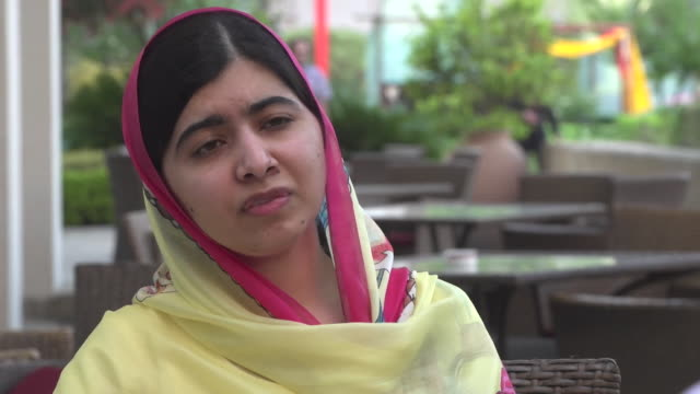 Malala Yousafzai said she did not care if terrorists would attack her and that she would continue to speak out in favour of education for females