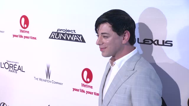 malan breton at project runway 10th anniversary party at highline on july 17 2012 in new york new york - project runway stock videos and b-roll footage