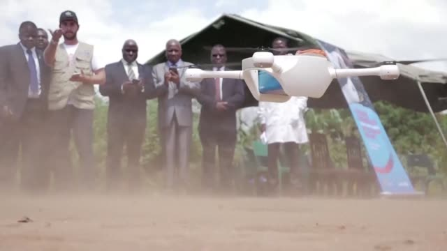 malawi is test driving drones that will be used to speed up the blood tests of infants that could have hiv - retrovirus stock videos and b-roll footage