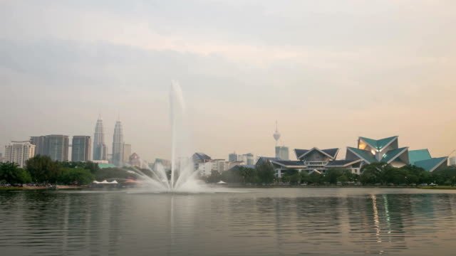 Malaysia KLCC is a building in kuala lumper