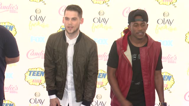 malcolm david kelley and tony oller at the teen choice awards 2014 at the shrine auditorium on august 10 2014 in los angeles california - shrine auditorium stock videos & royalty-free footage