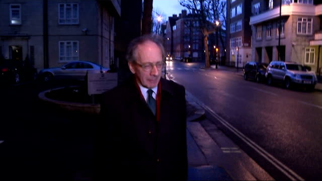 Malcolm Rifkind suspended over 'cash for access' claims doorstep Rifkind ENGLAND London Westminster PHOTOGRAPHY*** Malcolm Rifkind MP along from...