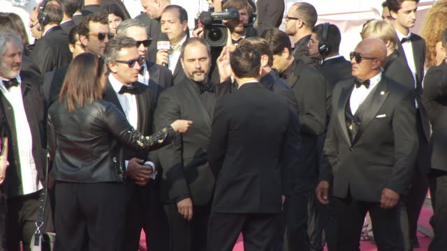 Malcolm Venville Orlando Bloom Leonardo DiCaprio JeanEric Vergne at 'The Traitor ' Red Carpet Arrivals The 72nd Cannes Film Festival on May 23 2019...