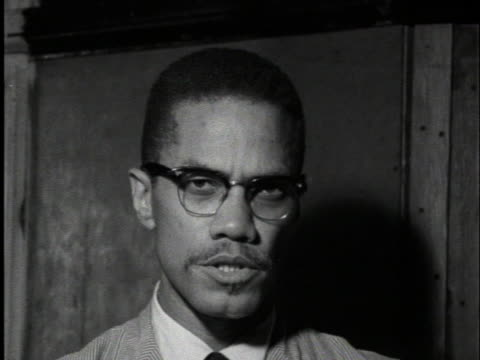 malcolm x says the passage of the civil rights law in the united states will not help in the area of job opportunities. - human rights or social issues or immigration or employment and labor or protest or riot or lgbtqi rights or women's rights stock videos & royalty-free footage