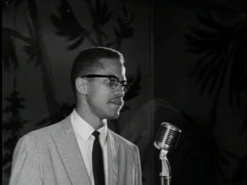 malcolm x talks about the passage of the civil rights law. - united states and (politics or government) stock videos & royalty-free footage