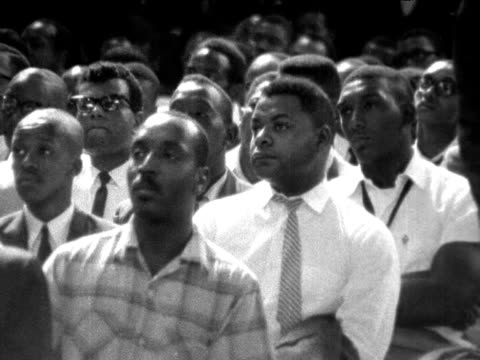 vídeos y material grabado en eventos de stock de malcolm x tells the audience - historia negra de estados unidos