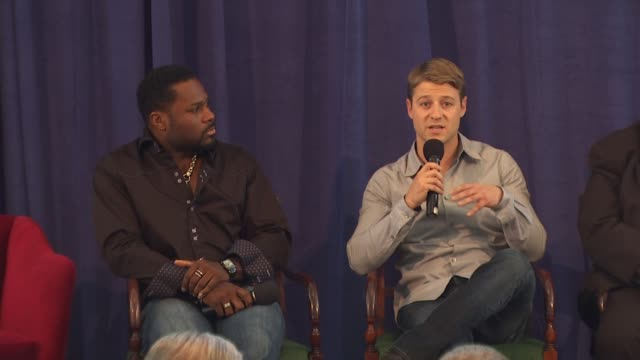malcolm-jamal warner and ben mckenzie at the education creativity and california's future presented by the california alliance for arts education at... - malcolm jamal warner stock videos & royalty-free footage