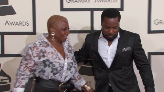 malcolm-jamal warner and pamela warner at the 57th annual grammy awards - red carpet at staples center on february 08, 2015 in los angeles,... - malcolm jamal warner stock videos & royalty-free footage