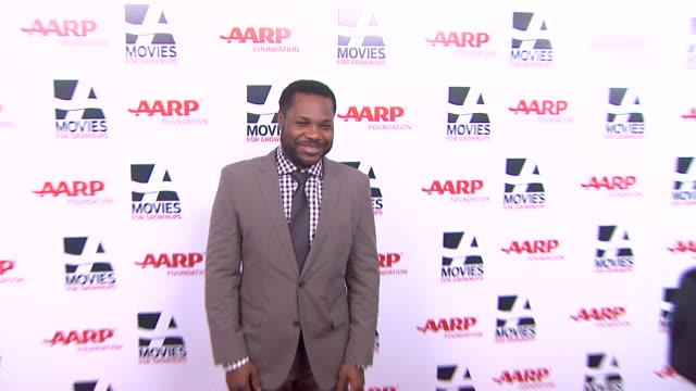 malcolm-jamal warner at 13th annual aarp's movies for grownups awards gala at regent beverly wilshire hotel on in beverly hills, california. - malcolm jamal warner stock videos & royalty-free footage