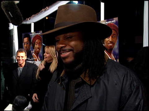 malcolm-jamal warner at the 'double take' premiere at the el capitan theatre in hollywood, california on january 10, 2001. - malcolm jamal warner stock videos & royalty-free footage