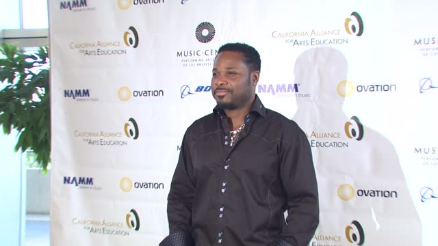 malcolm-jamal warner at the education creativity and california's future presented by the california alliance for arts education at los angeles ca. - malcolm jamal warner stock videos & royalty-free footage