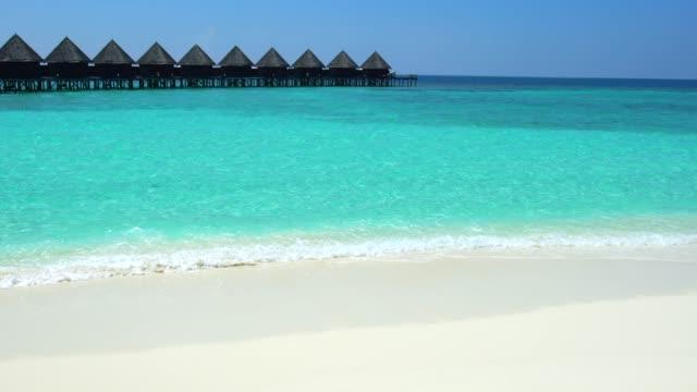 4K station balnéaire Maldives – vacances d'été