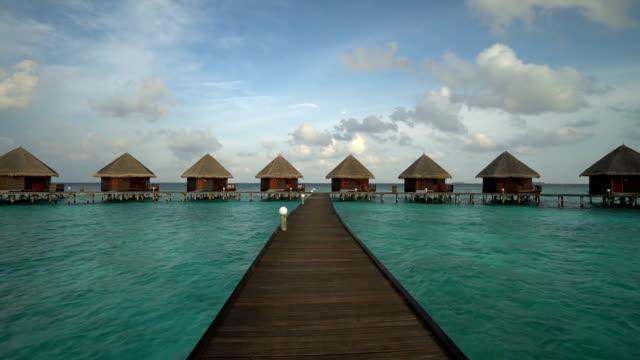 Maldives island with beach and sea