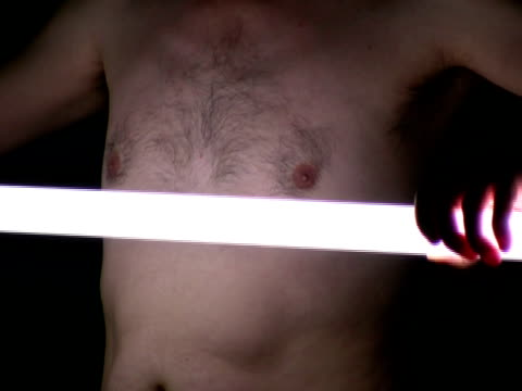 male body issues: naked torso in light - www stock videos & royalty-free footage