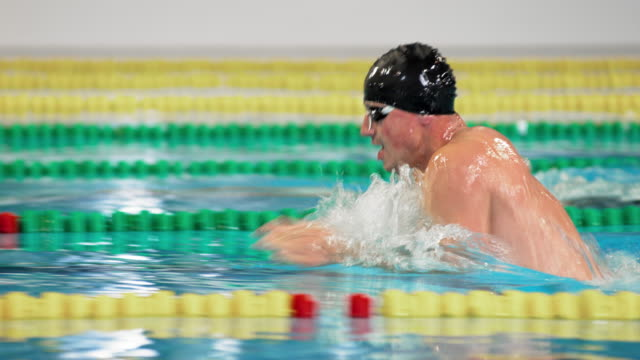 TS Male breaststroke style competition