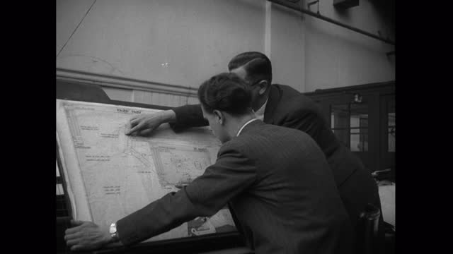 male designers work on new bicycle designs in factory; 1952 - human finger stock videos & royalty-free footage