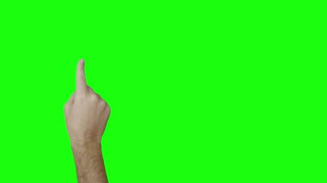 Männliche hand Geste