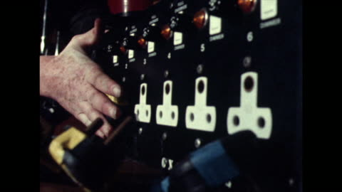 cu of male hand plugging in plugs;1981 - 1981 stock videos & royalty-free footage
