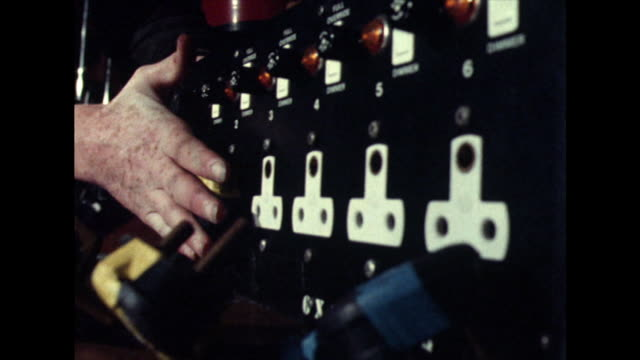 cu of male hand plugging in plugs;1981 - cable stock videos & royalty-free footage